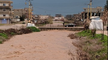 Syria overwhelmed by flooding after days of heavy rainfall