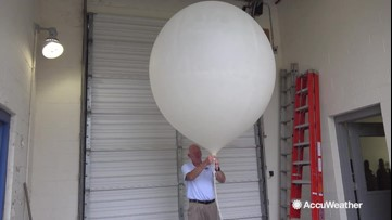 What a weather balloon actually does