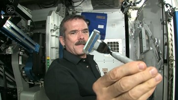 Here's How Astronauts Shave in Space