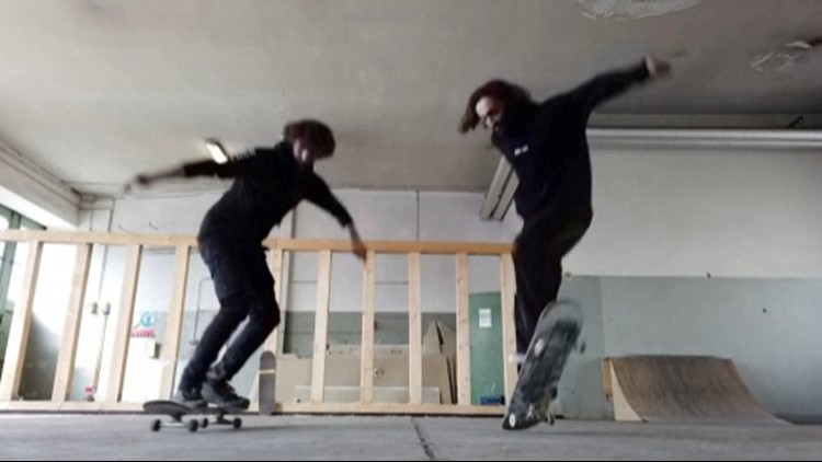 The Olympics Are The Top Prize for These Amazing Skateboarding Brothers