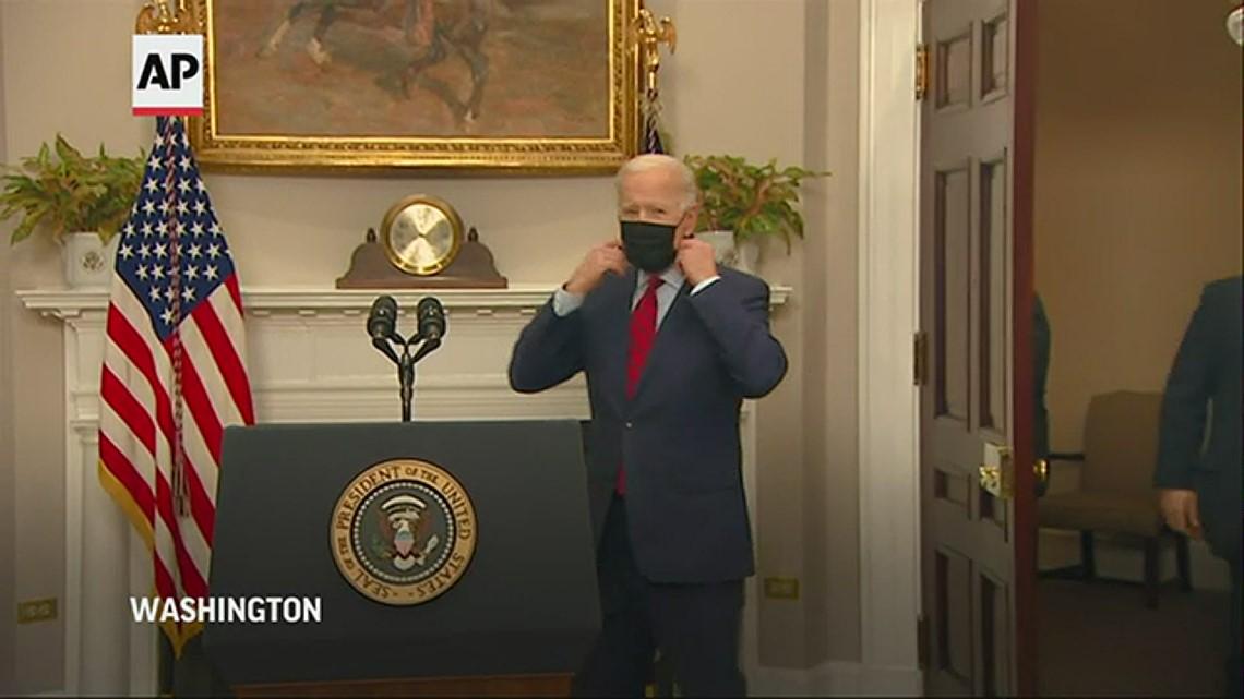 Biden hails House passage of $1.9T virus bill, now to Senate