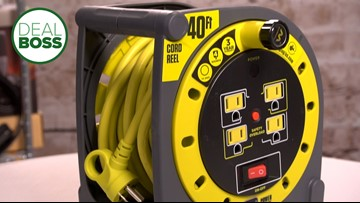 This powerful extension cord wraps easily and is on sale in time for spring projects