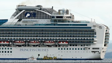 3,700 quarantined on cruise ship in Japan after passenger tests positive for coronavirus