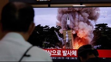 N. Korea test-fires missiles again after joint drills end