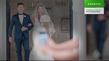 VERIFY: No, a wedding photographer didn't fake photos for a viral post