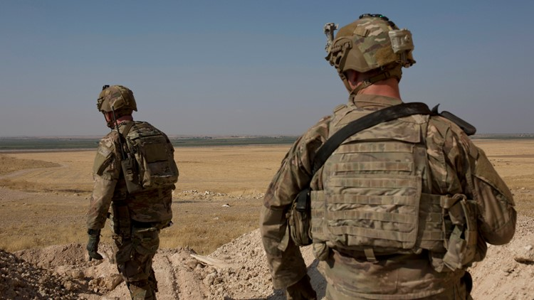 United States Syria Troops