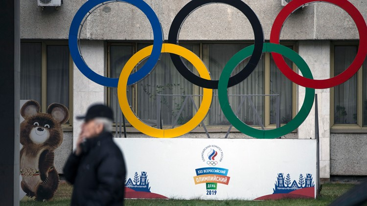 Russia's new team name, flag unveiled for next 2 Olympics
