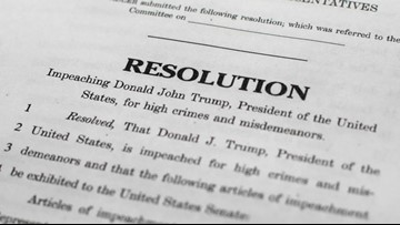 VERIFY: What articles of impeachment mean and what comes next