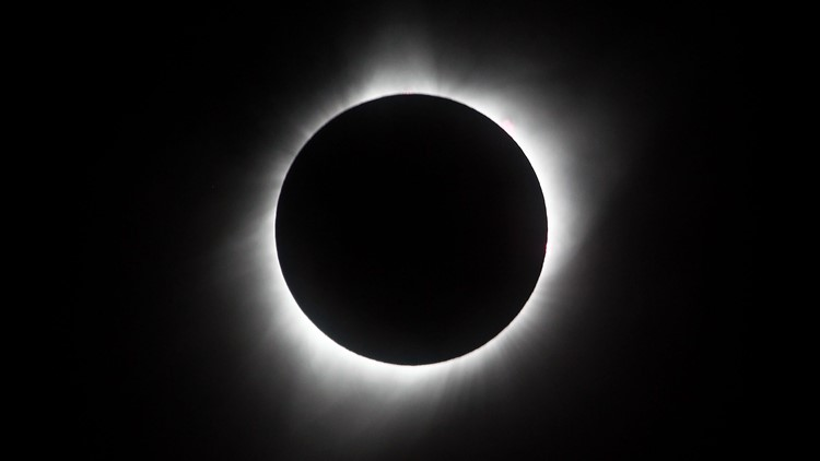 Total solar eclipse passes over South America