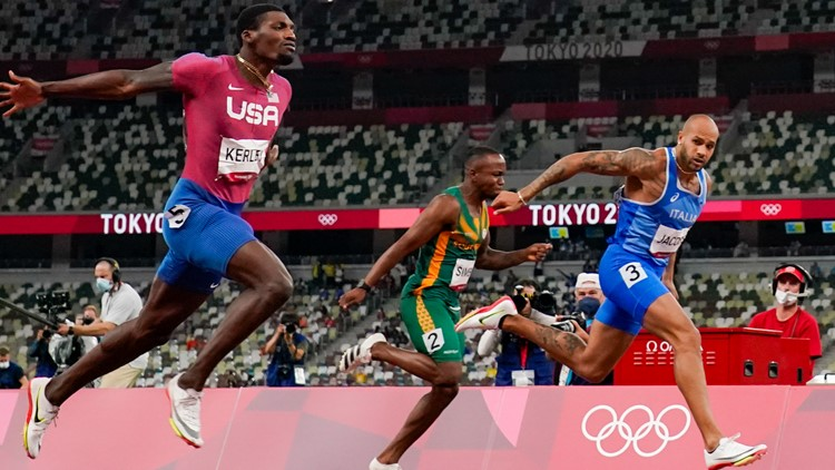 World's fastest man: Texas-born Italian sprints from unknown to Bolt's successor