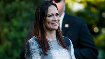 Stephanie Grisham named as next White House press secretary