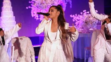 Ariana Grande trips during 'Ellen' performance, drops 'Breathin' video