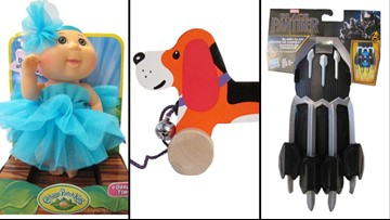 Cabbage Patch doll, Nerf blaster, infant xylophone among 2018's most dangerous toys