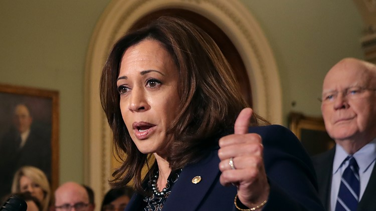 Senator Kamala Harris jumps into presidential race