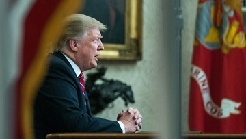 Facing pressure, networks fact-check Trump speech
