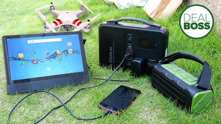 The best portable generator on sale now is powerful and lightweight