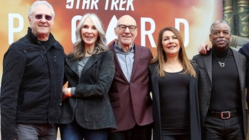 'Star Trek' cast had a Zoom birthday party for Counselor Troi because of coronavirus