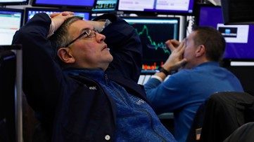 Stocks plunge 2,997 points amid fears coronavirus will cause recession