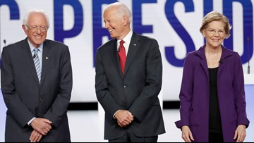 Democratic front-runners face off at Ohio debate