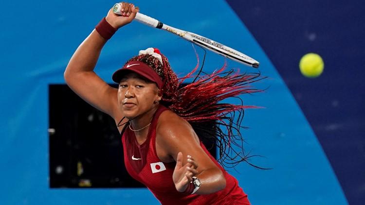 Naomi Osaka eliminated from Olympics tennis tournament
