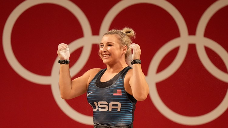 Kate Nye dazzles in rare medal for the US in weightlifting