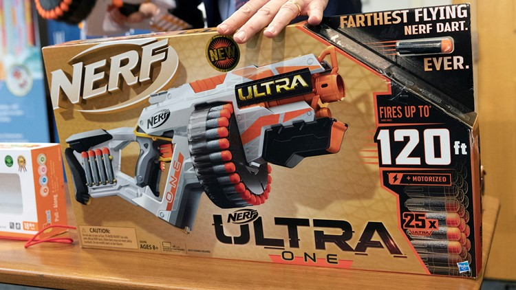 Nerf gun, ice cream-scented slime make watchdog's 'worst toys for holidays'