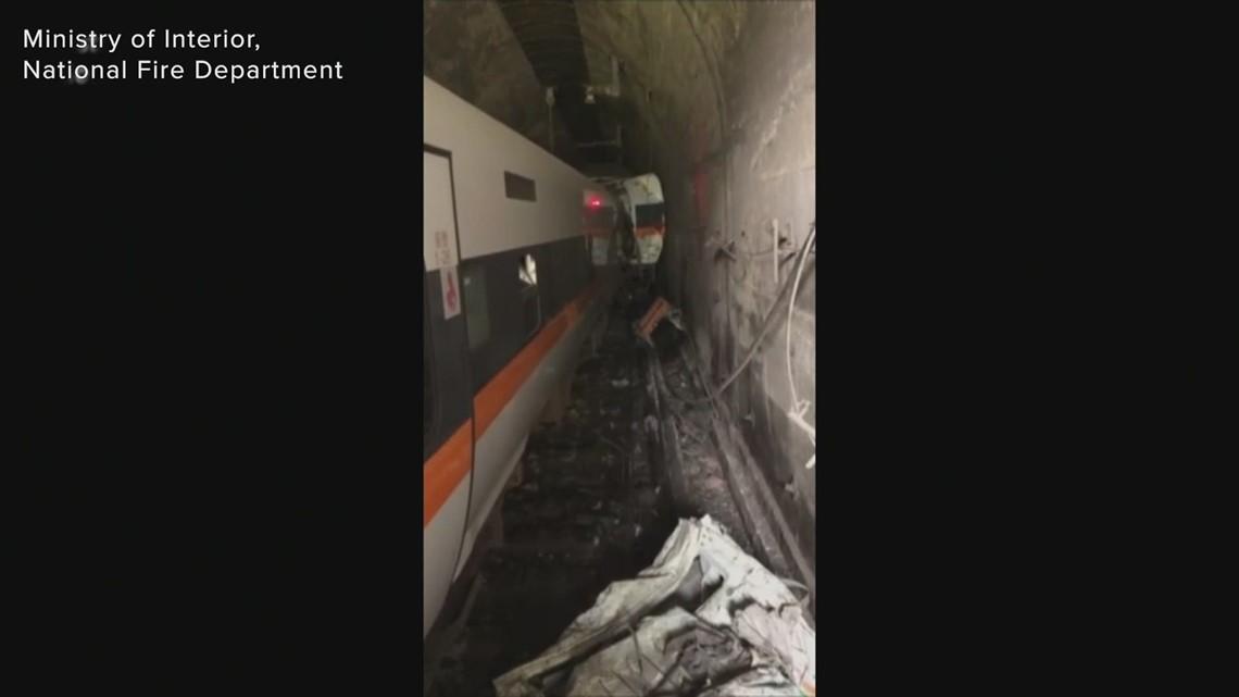Deadly Taiwan train derailment