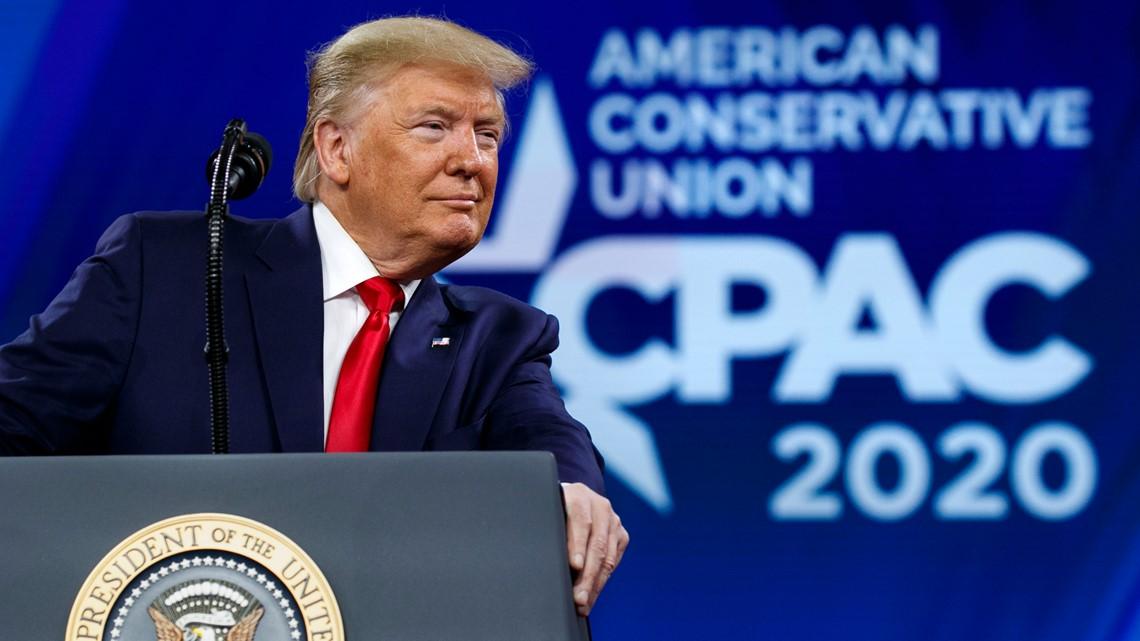 LIVE: Trump speaks at CPAC in Orlando