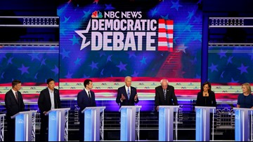 Lineup announced for 2nd Democratic debate