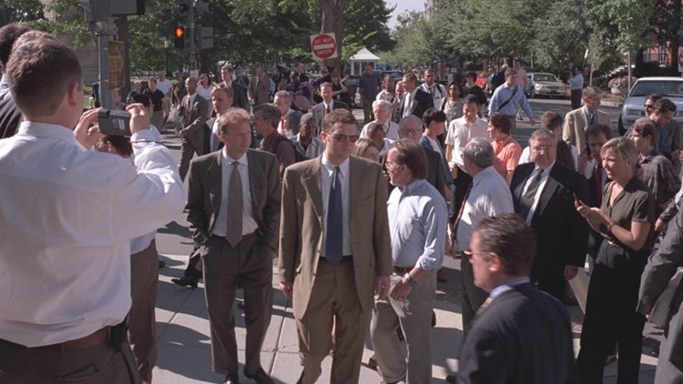 Stories from inside the White House on 9/11, from the staffers who were there