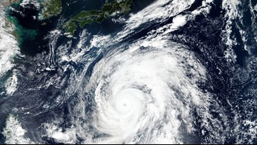 Super typhoon bears down on Japan with strength of Category 5 hurricane