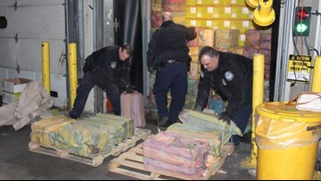 Agents seize $77 million of cocaine at New York-area port