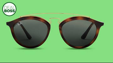 Ray-Ban sunglasses are half price in a spring sale today