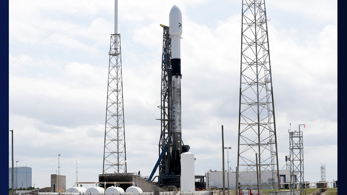 SpaceX set to launch Falcon 9 rocket Wednesday with 60 satellites