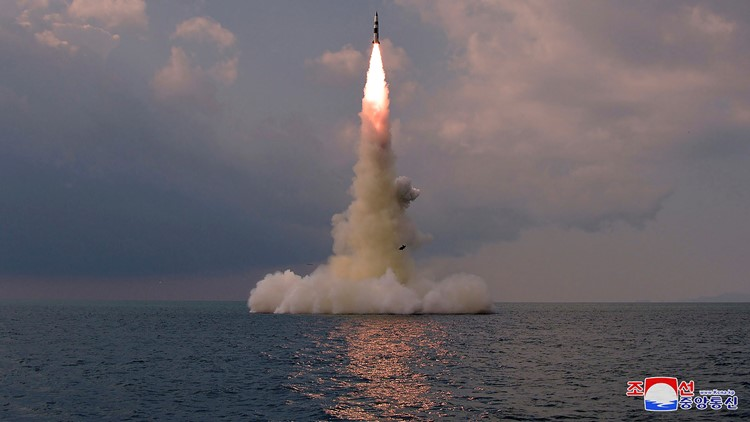 North Korea: Missile test was designed for submarine launch