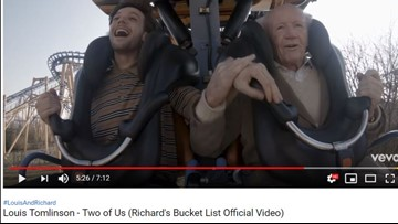 Former 'One Direction' member Louis Tomlinson helps 83-year-old complete bucket list