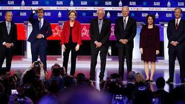 Democratic debate ends after a heated night on stage
