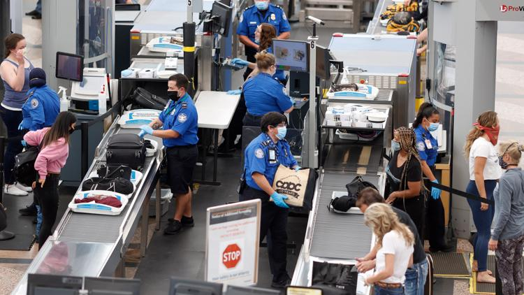 TSA promotes COVID-19 safety guidance ahead of anticipated spring break travel spike