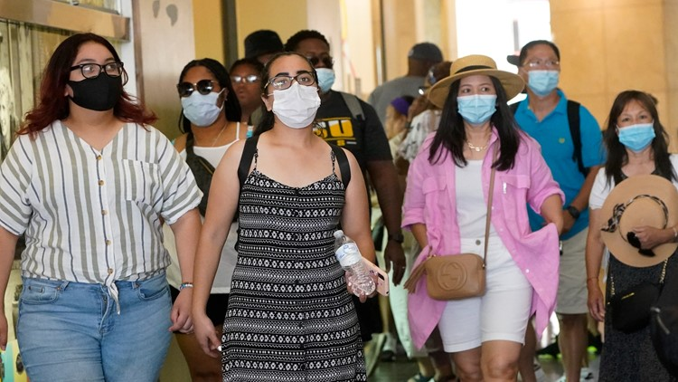 CDC reverses course on indoor masks in parts of US where COVID is surging