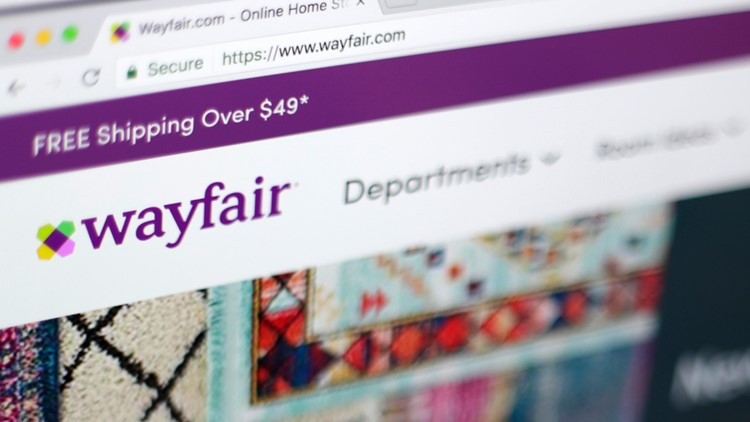 Wayfair website