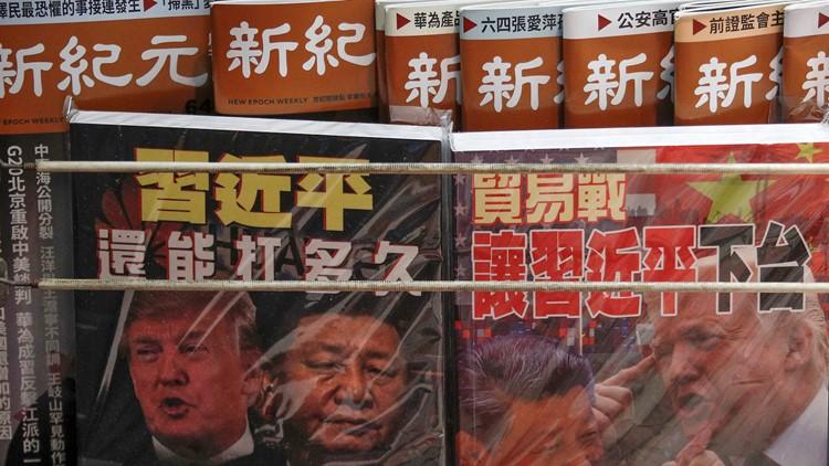Chinese President Xi Jinping and U.S. President Donald Trump US China Trade