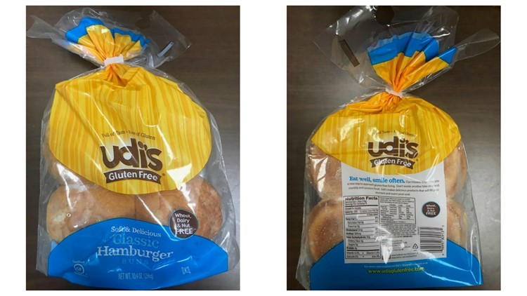 Udi's Classic Hamburger Buns