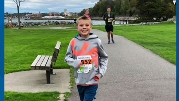 11-year-old breaks Guinness World Record at IMT Des Moines Marathon