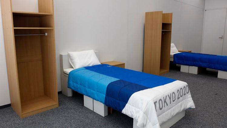 Tokyo beds Olympics Tokyo Cardboard Beds