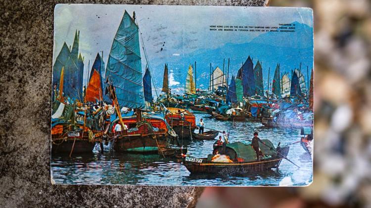 Old Postcard Kim Draper