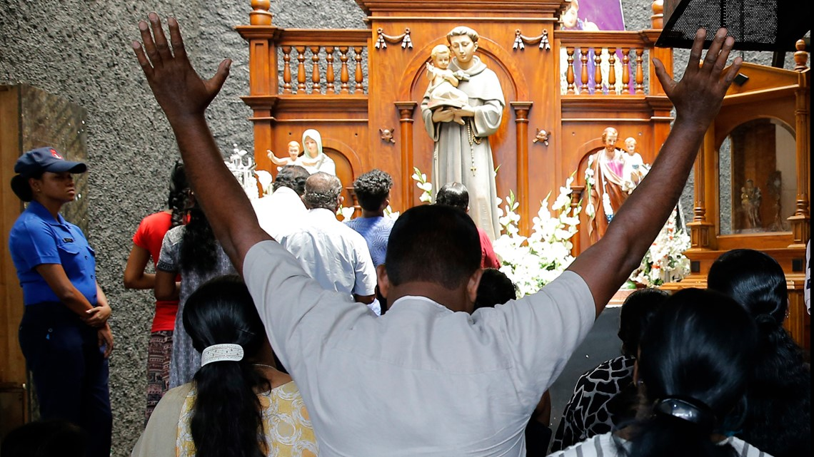 Sri Lankan president says '99 percent' of suspects in Easter bombings arrested