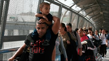 US begins tough new policy on asylum seekers