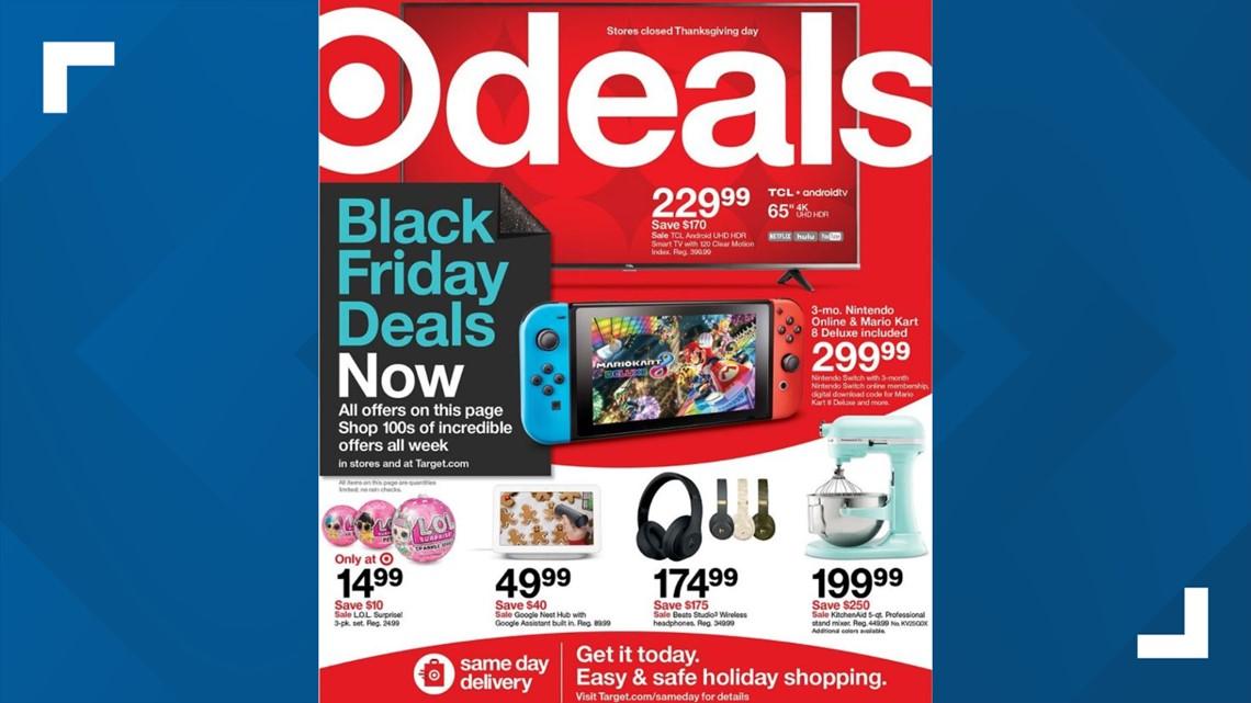 Target Black Friday ad 2020 deals kick off Sunday | wzzm13.com