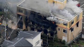 Man shouting 'You die' kills 33 at Japan anime studio fire