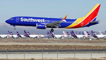Southwest extends Boeing 737 Max cancellations into November